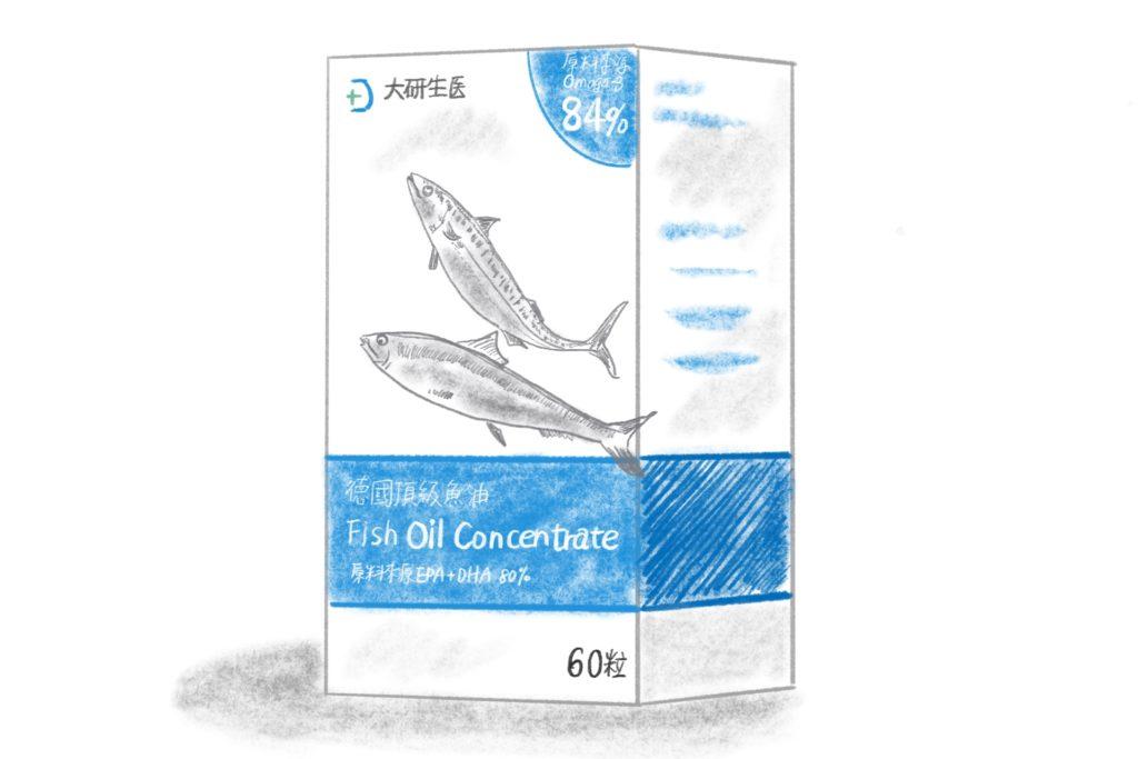 大研生醫德國頂級魚油